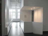 Gallery desk facing 1st